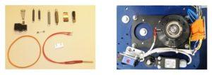 Pièces de rechange pour filmeuse et banderoleuse de palettes