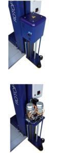 chariot de filmage nouvelle génération ROBOPAC filmeuse 708 PVS