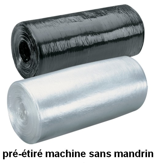 FILM PREETIRE MACHINE CORELESS SANS MANDRIN