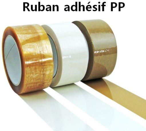 rouleau adhésif PP manuel 48 mm
