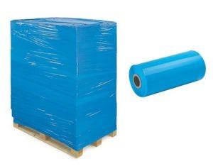 rouleau film étirable automatique bleu opaque