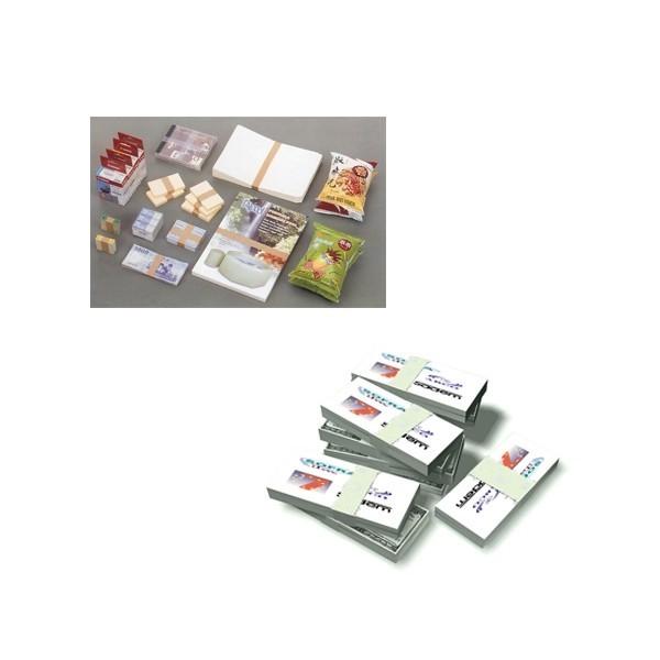 BANDEROLEUSE-DE-TABLE-SA-88 liasse bande plastique papier