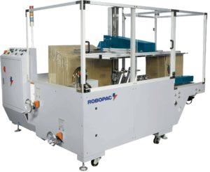 Formeuse de caisse carton automatique vue générale machine à former les boites