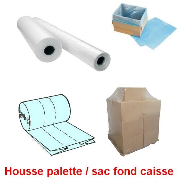 Housse Sac Pe Retractable Housse Plastique Protection Palette