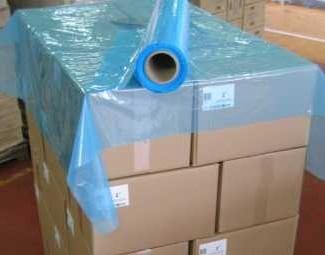 coiffe palette bleue translucide
