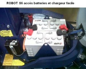 ROBOT de BANDEROLAGE S6 FR option panier batterie gel supplémentaire