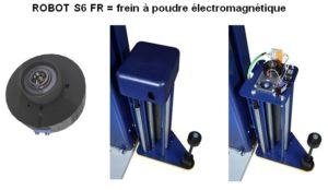ROBOT de BANDEROLAGE S6 FR simple frein électronique
