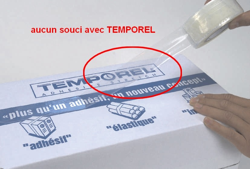 ROULEAU-ADHESIF-ETIRABLE-TEMPOREL