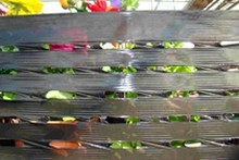 film étirable macroperforé machine noir échange air palette fruit légume plante