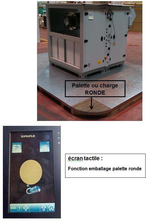 robot de palettisation s6 pvs charge ronde