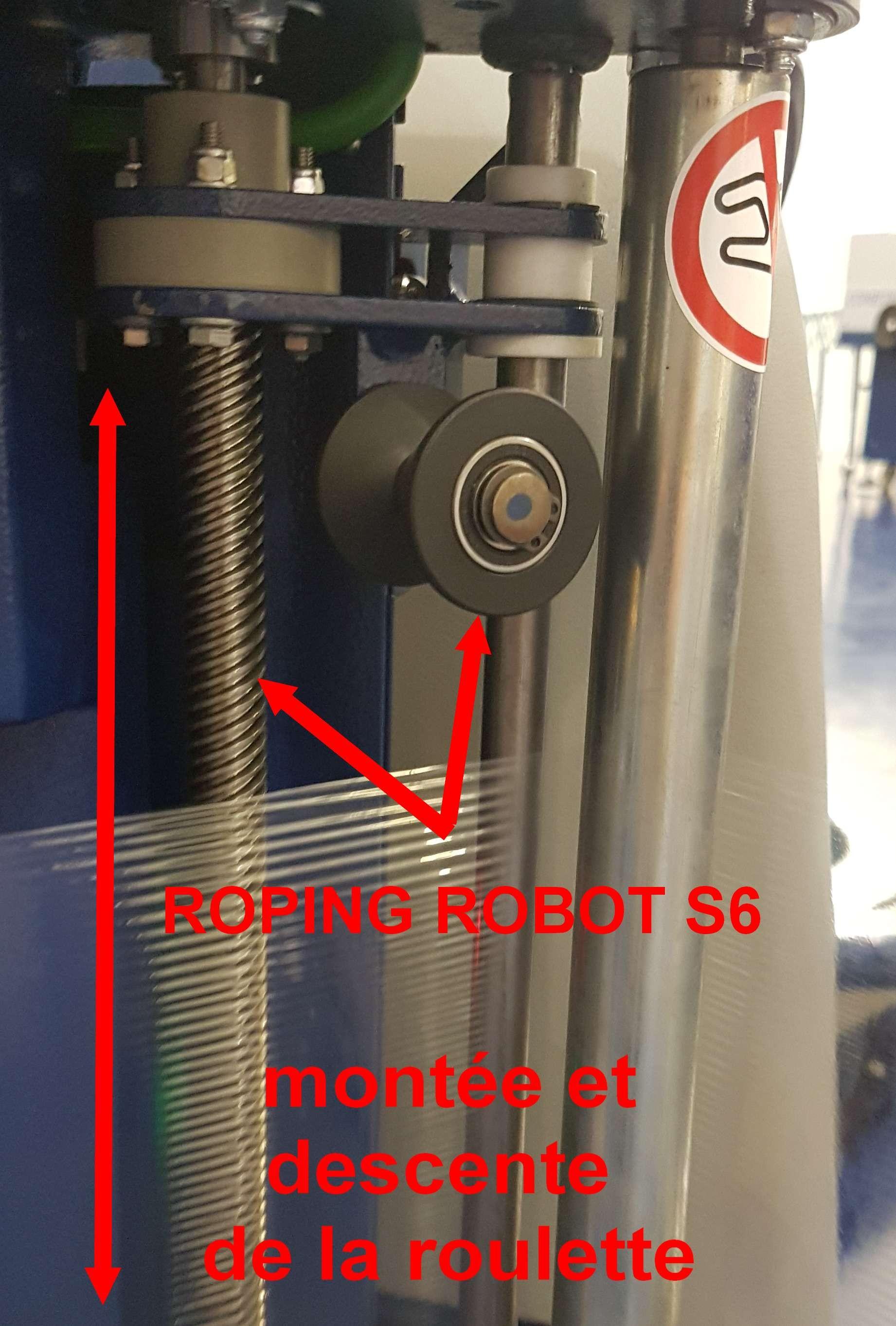 robot de palettisation s6 pvs roping
