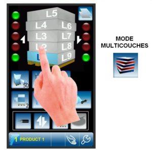 banderoleuse innovante 308 FR TP écran tactile couleur multiniveau