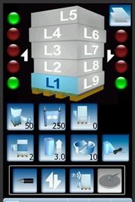 écran lcd couleur tactile multicouche filmeuse 708-PVS