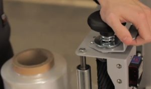 FILMEUSE BRAS TOURNANT frein mécanique manuel