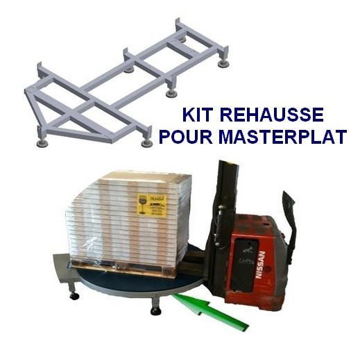 filmeuse masterplat pré-étirage fixe 250% PGS surélévation transpalette électrique