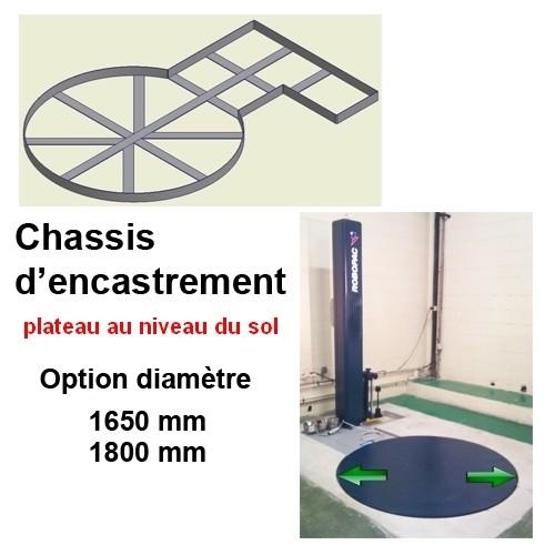 BANDEROLEUSE-MASTERPLAT-FRD-FREINAGE-MANUEL kit encastrement sol