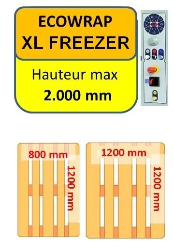 FILMEUSE ECOWRAP FREEZER dimension palette maxi