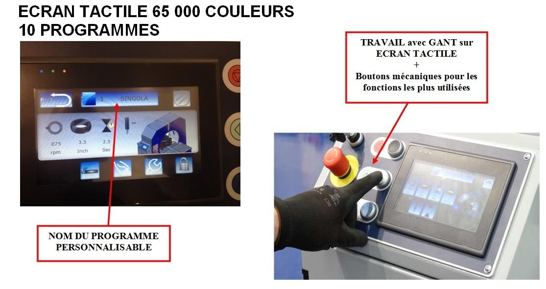 COMPACTA-PACKAGING-calage-écran tactile couleur