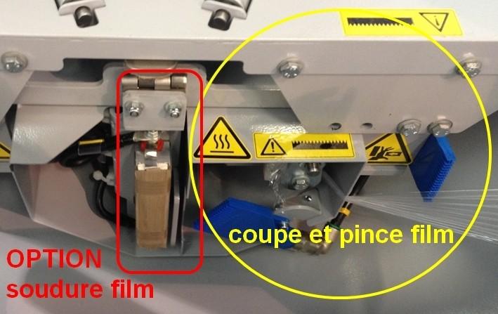 COMPACTA-PACKAGING-calage-sous-étirable option soudure film étirable