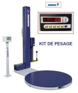 BANDEROLEUSE PRE-ÉTIRAGE-MOTORISE-508 PDS avec kit de pesage