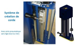 ROPING CERCLAGE PALETTE-BANDEROLEUSE-ROTOPLAT 508 PDS