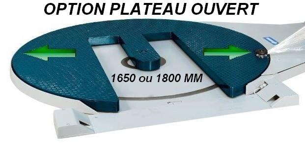 option table tournante ouverte FILMEUSE-PRE-ETIRAGE 508 PDS version TP