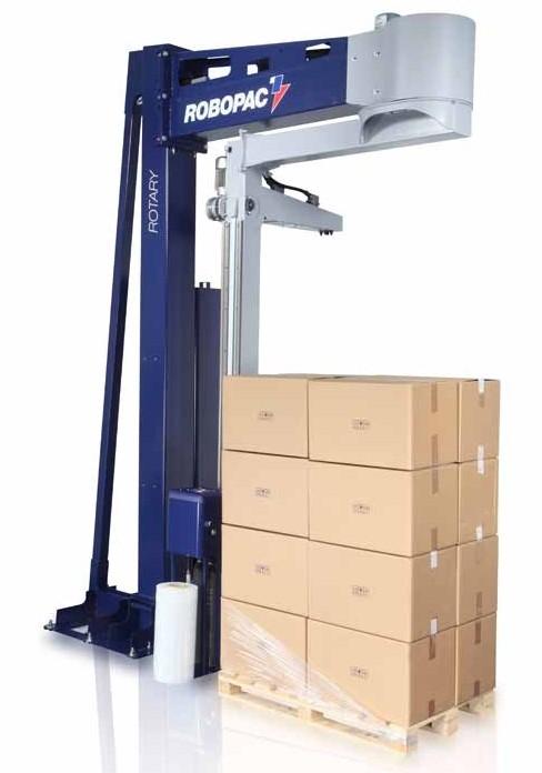 palette de carton avec ROTARY-508-PDS-bras-tournant-extensible