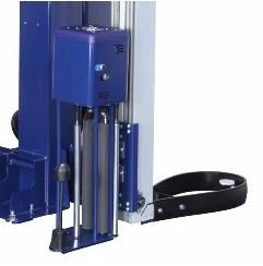 FILMEUSE BRAS TOURNANT EXTENSIBLE rotary 508 pds sécurité rotation avec bumper
