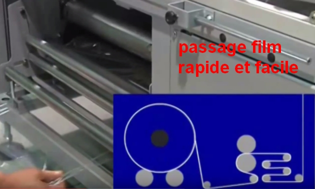 FARDELEUSE ATHENA COMBI automatique passage film polyoléfine