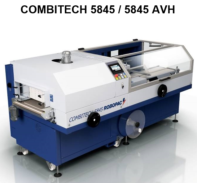 COMBITECH 5845 ROBOPAC fardelage soudage rétraction automatique