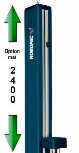 banderolage étirable palette hauteur 2.4m