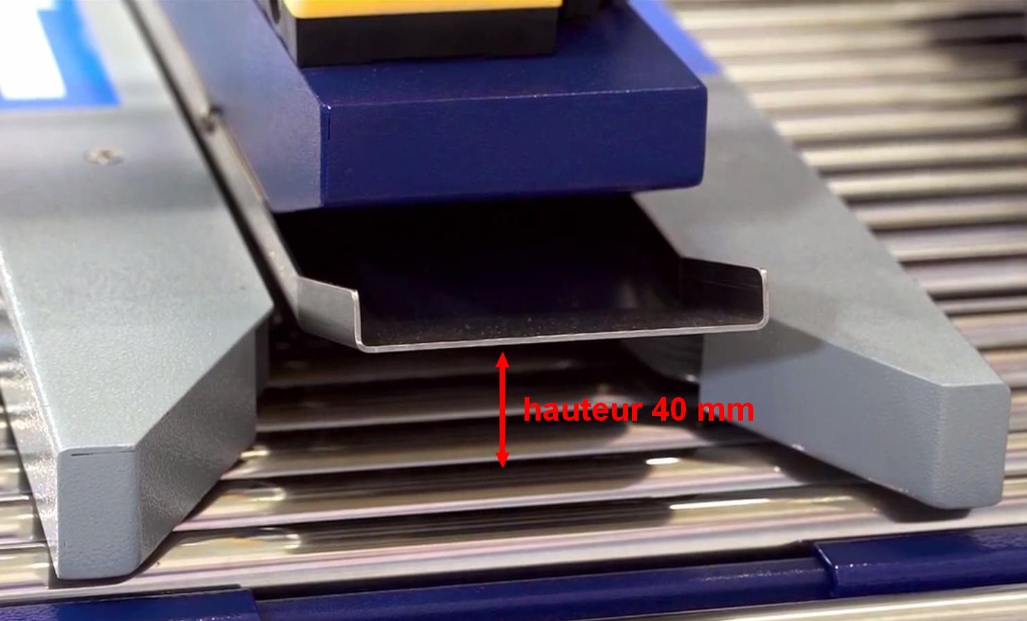 scotcheuse petit carton faible hauteur ROBOTAPE 50 ME LH