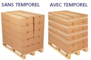 rouleau adhésif étirable TEMPOREL palettes