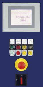 banderoleuse automatique technoplat 3000 écran tactile