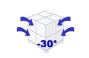 film macro perforé étirable automatique permet la congélation surgélation plus rapide
