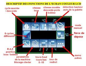 filmeuse-plateau-gerbeur-masterplat-pgs TP3 écran couleur 6 programmes