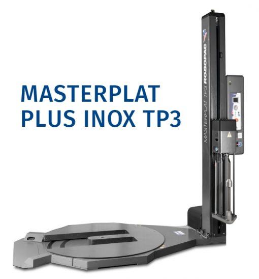 filmeuse-plateau-gerbeur-masterplat-pgs TP3 INOX alimentaire pharmacologique cosmétique