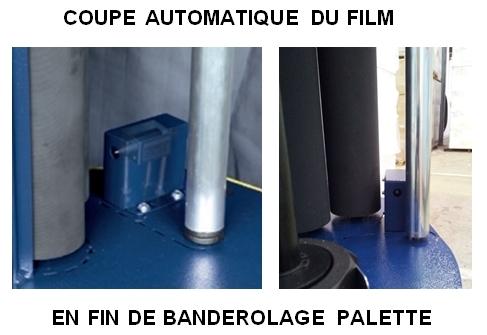 ROBOT MASTER coupe automatique film étirable