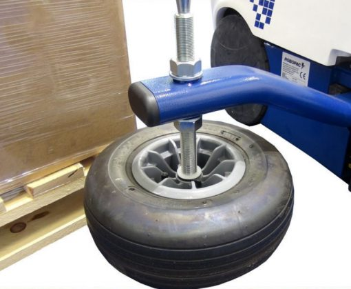 ROBOT MASTER PDS PRE-ETIRAGE détail roue palpeuse palette