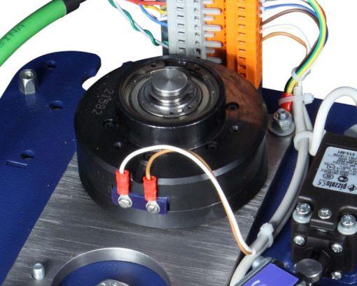 banderoleuse innovante 308 FR TP rotoplat plateau tournant TP3 frein magnétique à poudre
