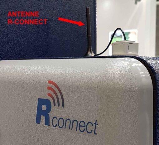 banderoleuse innovante 308 FR TP rotoplat plateau tournant TP3 option R-CONNECT