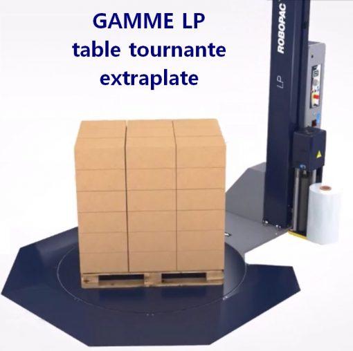 MASTERPLAT LP RAMPE 270 avec palette
