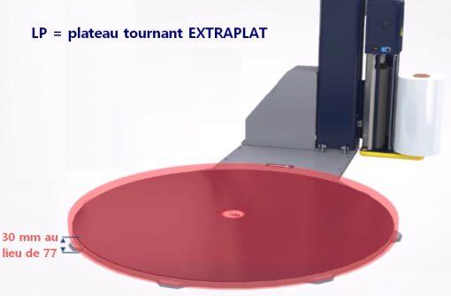 MASTERPLAT LP plateau extrafin épaisseur