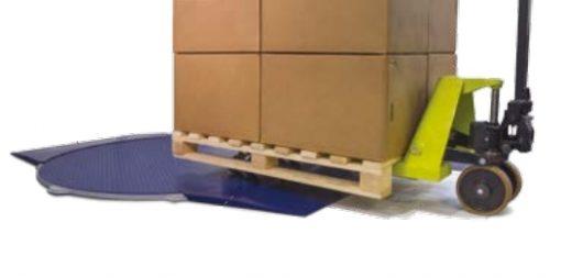 MASTERPLAT LP plateau extraplat avec 2 rampes + transpalette