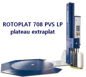 FILMEUSE PALETTE 708 PVS LP hauteur plateau minimum