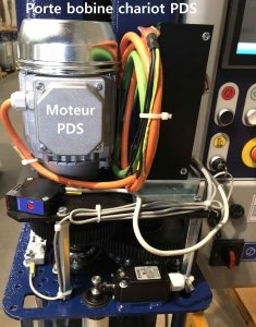 banderoleuse plateau tournant évidé ROTOPLAT TP3 présentation moteur préétirage 508 PDS