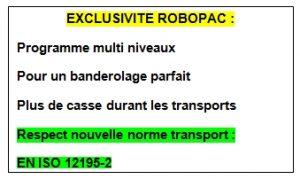 Filmeuse automatique TECHNOPLAT série 8 fonction MLC norme européenne