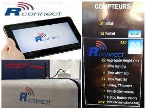 Filmeuse automatique TECHNOPLAT série 8 option RCONNECT
