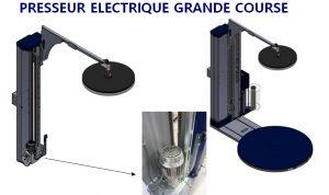 Filmeuse automatique TECHNOPLAT série 8 presseur électrique palette légère