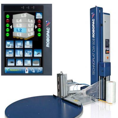 Filmeuse automatique TECHNOPLAT série 8 avec écran tactile